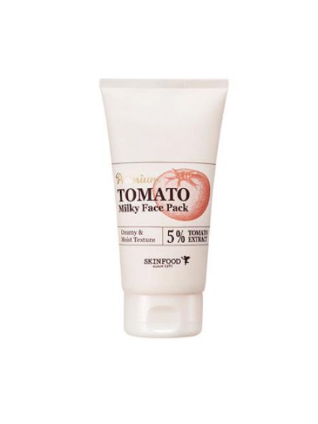 Массажная осветляющая маска с экстрактом томата Skinfood Premium Tomato Milky Face Pack