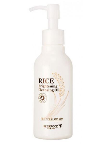 Гидрофильное масло для сияния кожи Skinfood Rice Brightening Cleansing Oil