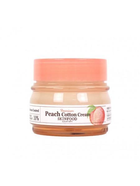 Матирующий персиковый крем для лица Skinfood Premium Peach Cotton Cream