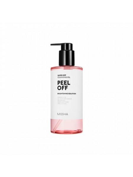 Гидрофильное масло с эффектом пилинга Missha Super Off Cleansing Oil (Peel Off)