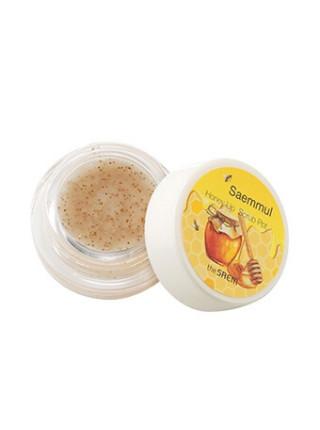Медовый скраб для губ в баночке The Saem Saemmul Honey Lip Scrub Pot