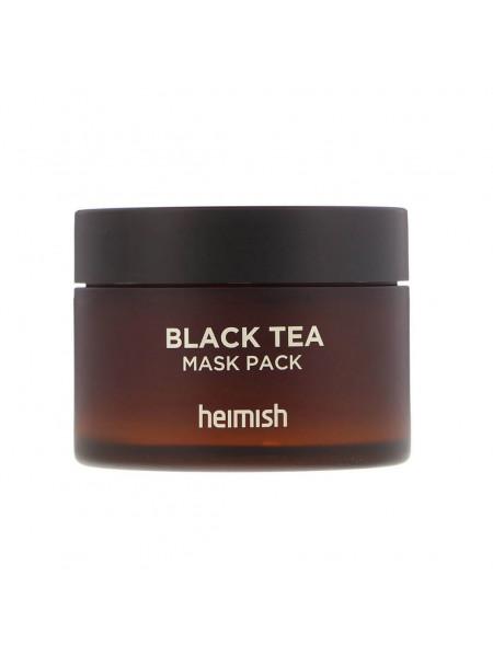 Лифтинг-маска против отеков с экстрактом черного чая Heimish Black Tea Mask Pack