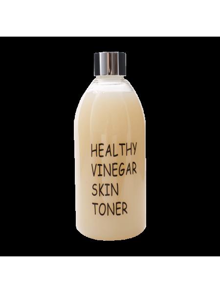 Слабокислотный антивозрастной тоник с рисом Realskin Healthy Vinegar Skin Toner (Rice)