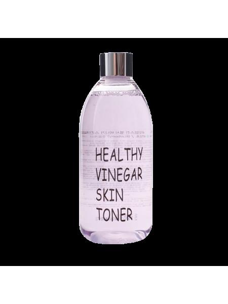 Слабокислотный тоник с черникой для сужения пор Realskin Healthy Vinegar Skin Toner (Blueberry)