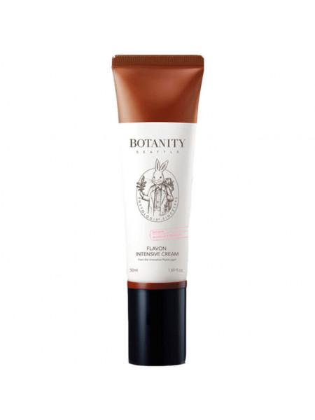 Питательный крем с керамидами Botanity Flavon Intensive Cream