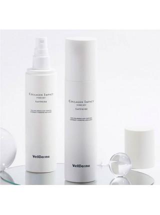Коллагеновый мист для лица Wellderma Sapphire Collagen Impact Hydro Mist