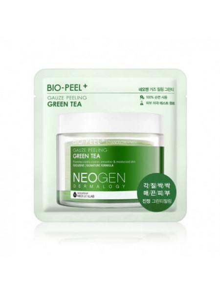 Успокаивающие пилинг-пэды с зеленым чаем Neogen Dermatology Bio-Peel Gauze Peeling Green Tea