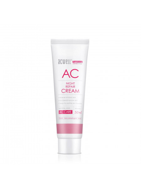Ночной восстанавливающий крем для проблемной кожи ACWELL AC Night Repair Cream