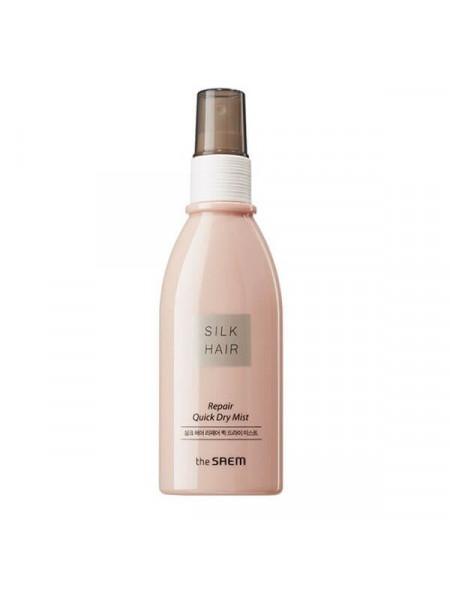 Многофункциональный термозащитный мист для волос The Saem Silk Hair Repair Quick Dry Mist