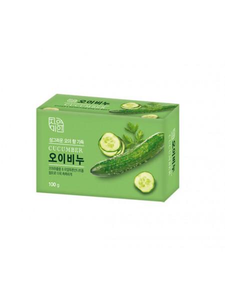 Огуречное мыло для умывания Mukunghwa Moisture Cucumber Soap