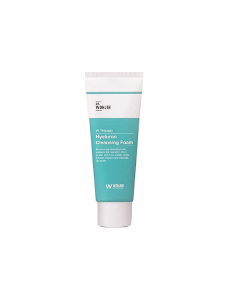 Увлажняющая пенка с гиалуроновой кислотой Wonjin W. Therapy Hyaluron Cleansing Foam