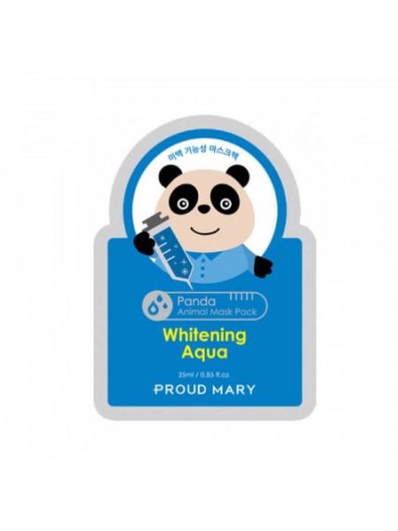 Тканевая маска отбеливающая PROUD MARY Panda Animal Mask Pack