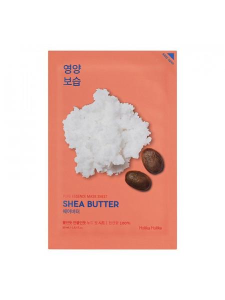 Питающая тканевая маска Pure Essence Mask Sheet Shea Butter, масло ши