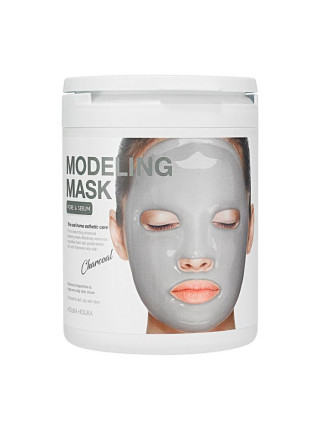 Альгинатная маска для лица, с углем Modeling Mask (Charcoal)