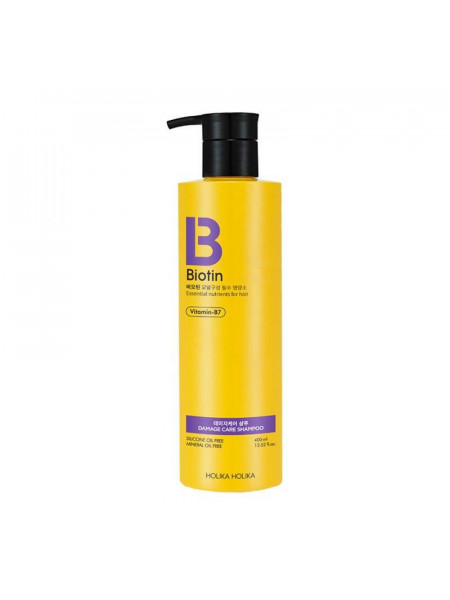 Шампунь для поврежденных волос Biotin Damage Care Shampoo