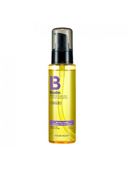 Масляная сыворотка для волос Biotin Damagecare Oil Serum