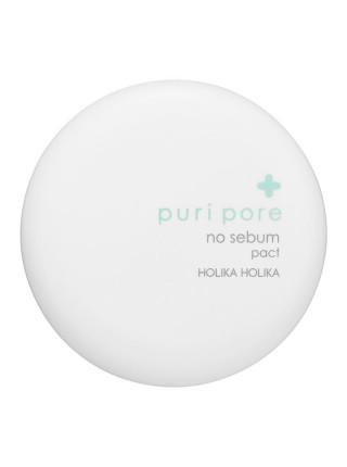 Компактная пудра для лица, матирующая Puri Pore No Sebum Pact
