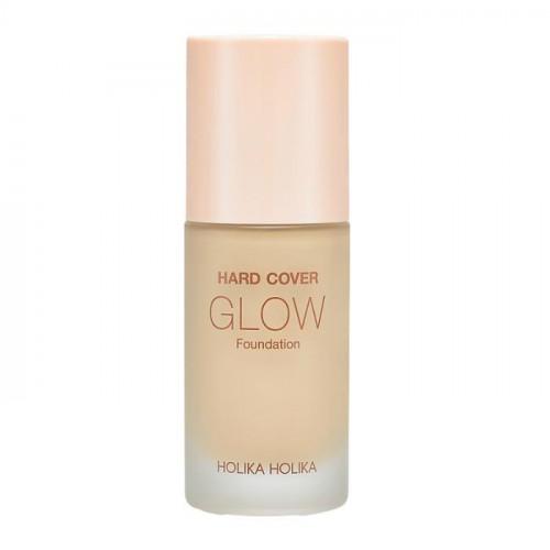 Увлажняющая тональная основа Hard Cover Glow Foundation 04 Honey, светло-бежевый