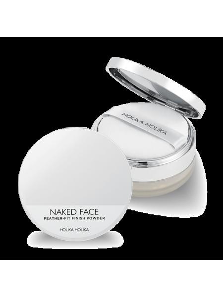 Рассыпчатая пудра Naked Face Feather-Fit Finish Powder, бежевый