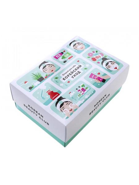 """Подарочная коробка """"Корейский уход"""", большая (240х170х100)"""