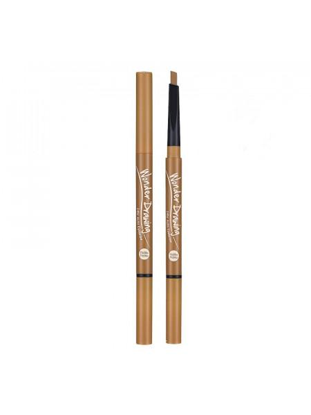 Карандаш для бровей, светло-коричневый Wonder Drawing 24hr Auto Eyebrow 03 Light Brown