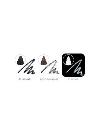 Автоматический карандаш-подводка, черный Wonder Drawing Auto Eyeliner 01