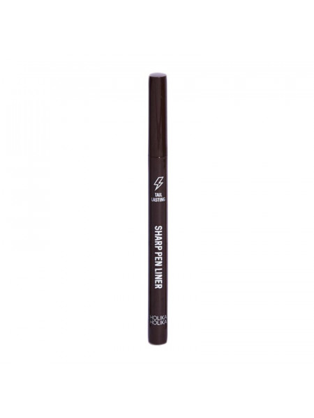 Подводка для глаз, тон 02, коричневая Tail Lasting Sharp Pen Liner 02