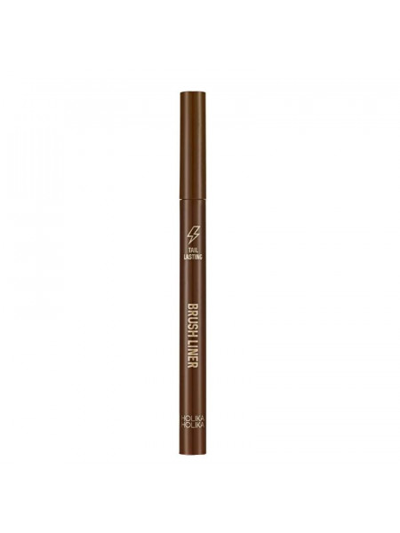 Подводка для глаз, тон 03, светло-коричневая Tail Lasting Brush Liner 03 soft brown