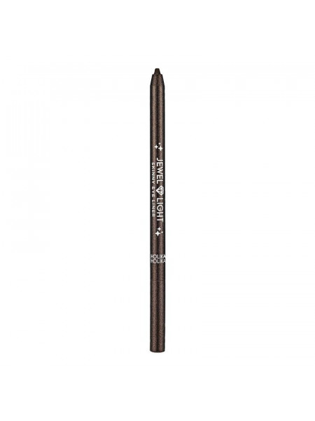 Тонкий карандаш-подводка Jewel Light 02 Starry Brown, темно-коричневый