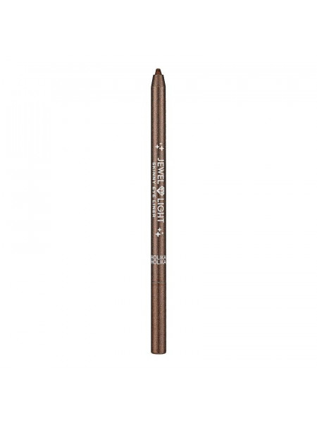 Тонкий карандаш-подводка Jewel Light 03 Cocoa Powder, коричневый