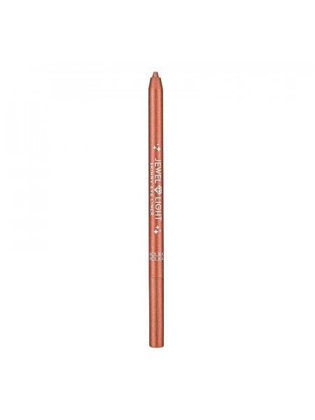 Тонкий карандаш-подводка Jewel Light 09 Rose sparkling, розовый