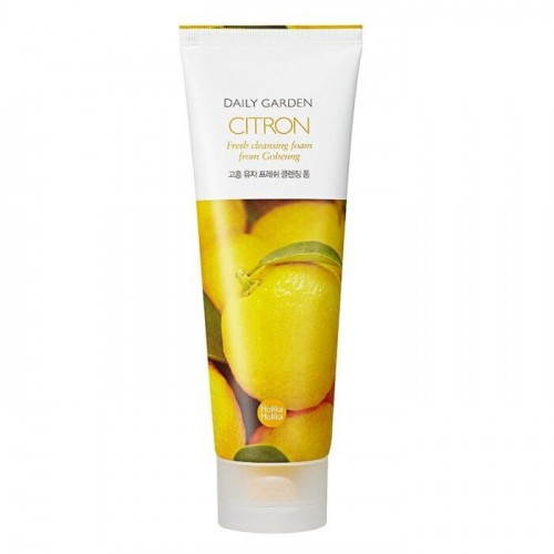 Очищающая пенка с цитроном Daily Garden Citron Fresh cleansing foam from Goheung
