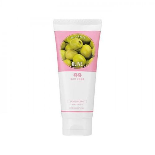 Очищающая пенка с оливой, увлажняющая Daily Fresh Olive Cleansing Foam 150ml