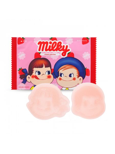 Мини-патчи для щек Peko Jjang Cheek Patches Strawberry
